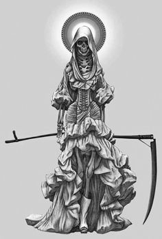 La Santa Muerte by Angelero.