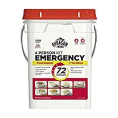 Augason Farms 72 Hour 4 Person Emergency Food Supply Storage Kit 14 Lbs 7 Oz for sale online Emergency Food Kits, Emergency Food Storage, Emergency Preparedness, Emergency Supplies, Hurricane Preparedness, Lds Food Storage, Emergency Bag, Survival Quotes, Survival Food