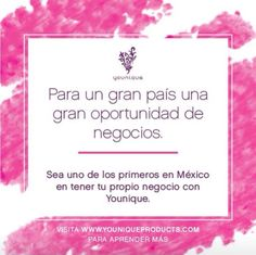 Younique is launching in Mexico on October 1!!!!  And yes YOU want to be one of the first ones to sign up!!  Did you know the first presenter in a new country to reach Black-status earns a $10,000 bonus check??!!!!! This took only 12 days when we launched in the UK last year!    Who do YOU KNOW that would be interested in this amazing online-stay-at-home-with-your-kids business??!  Please send them my way!  I have an awesome referral program!