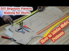 shirt pattern making tutorial [DIY] shirt pattern making tutorial, Techniques for pattern making shirts shirt pattern making[. Bodice Pattern, Suit Pattern, Pants Pattern, Shirt Patterns For Women, Shirt Collar Pattern, Shirt Cutting Tutorial, Pattern Drafting Tutorials, Sewing Patterns, Tailoring Techniques