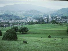 Romania 1984-1986 vazuta din ambasada SUA | Muzeul de Fotografie Bucharest, Socialism, Places Ive Been, Sibiu Romania, Mountains, Park, Lens, Travel, Viajes