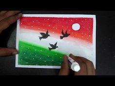 Independence Day Drawing With Oil Pastels Oil Pastel Colours, Oil Pastel Art, Oil Pastel Drawings, Oil Pastels, Independence Day Drawing, Independence Day Activities, 15 August Independence Day, Easy Drawings Sketches, Easy Drawings For Kids