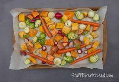 Gorgeous Roasted Veggies! - Stuff Parents Need