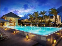 Top-notch all-inclusive Honeymoon. Punta Cana's Hard Rock Hotel has 15 pools and 9 restaurants.