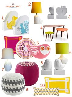 Happy Chic by Jonathan Adler Charlotte Round Pouf - Google Search