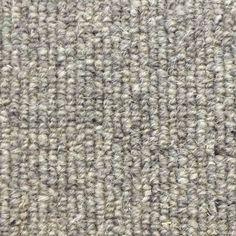 Manx Natural Styles Linea Shingle 100% Wool Grey Loop Carpet