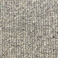 Manx Natural Styles Linea Shingle 100% Wool Grey Loop Carpet