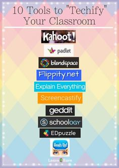 "Teacher Tools to ""Technify"" Your Classroom! Teacher Tools to ""Technify"" Your Classroom!,School Teacher Tools to ""Technify"" Your Classroom! Related posts:The Best Teaching Tool for Learning Math Concepts! Teacher Tools, Teacher Hacks, Teacher Resources, Classroom Teacher, Classroom Ideas, Classroom Websites, Classroom Tools, Websites For Teachers, Classroom Activities"