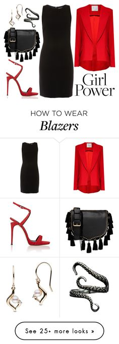 """What's Your Power Look?"" by joslynaurora on Polyvore featuring Giuseppe Zanotti, ELLIOTT LAUREN, Hebe Studio, Rebecca Minkoff and MyPowerLook"