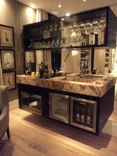 Perfect 50 Stunning Home Bar Designs