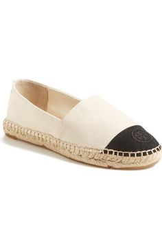 Tory Burch Canvas Espadrille (Women) available at #Nordstrom