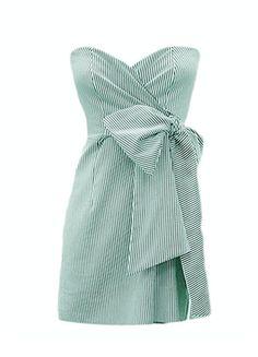 LOVE. seersucker dress.