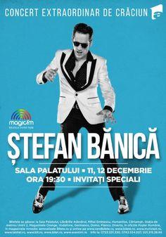 Sambata, 12 Decembrie 2015, ora 19:30, Sala Palatului, Bucuresti Baseball Cards, Concert, Movie Posters, Logo, Logos, Film Poster, Concerts, Billboard