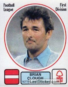 Brian Clough, Nottingham Forest Fc, Everton Fc, Uk Football, Sticker, England, Baseball Cards, Life, British Football