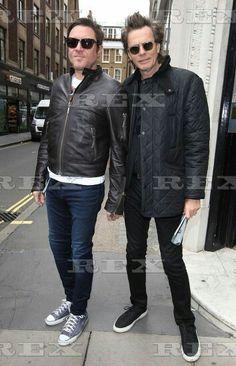 Duran Duran out and about, London, Britain - 03 Sep 2015  Duran Duran at the studios of KISS FM 3 Sep 2015