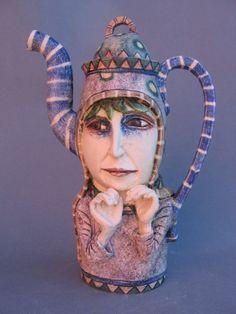 Title: 'Lady' Teapot  Description:Ceramic  Artist: AmandaPopham