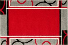 New Island Rugs from Carpet Call. New Island is a modern range featuring around red, white and black in a great range of popular designs. Direct from Egypt, this is great value for money. Shop online to get 20% off ticketed price and free shipping!