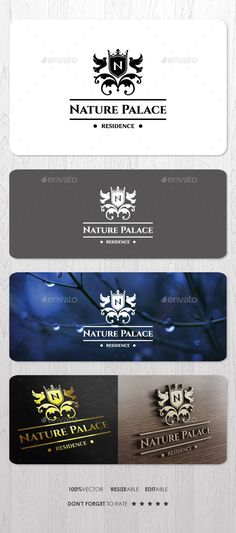 Nature Palace Residence Logo Template #design Download: http://graphicriver.net/item/nature-palace-residence-logo/10135746?ref=ksioks
