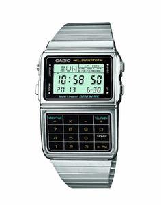 CASIO Digital DBC-611E-1EF Watch Silver mens
