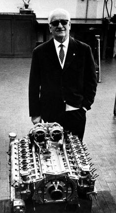 (°!°) Enzo Ferrari in 1972