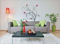 wände streichen ? ideen für das wohnzimmer - wand farbe streichen ... - Wohnzimmer Ideen Streichen