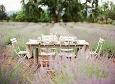 lavender field reception table | Lavender Provencal Wedding http://theproposalwedding.blogspot.it/ #lavanda #lavender wedding #matrimonio #spring #primavera