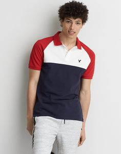 ... Polo Shirt Design, Polo Design, Tee Shirt Designs, Polo Rugby Shirt, Mens Polo T Shirts, Polo Tees, Rugby Outfits, Polo Shirt Outfits, Camisa Polo