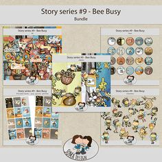 SoMa Design: Bee Busy - Bundle- Story Series #9