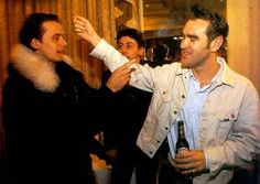 Brett Anderson y Morrissey.