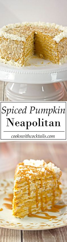 Spiced Pumpkin Napol