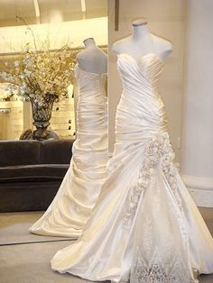 i really like the fit and shape of this pnina tornai wedding dress.