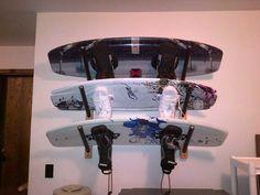 wakeboard triple rack