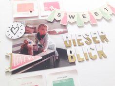 """Details - Layout """"Dieser Blick"""" mit Crate Paper Hello Love von Ulrike Dold"""