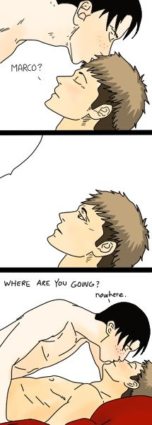 Attack on Titan ~~ If only he'd stayed... :: Jean and Marco
