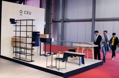 O CÉU - I SALONE DEL MOBILE - Our booth in Milan 2016.