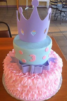 kids cupcakes for birthday party | Cakes and Cupcakes for Kids birthday party / Princess Cake ~ adorable!