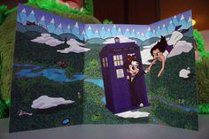 Casamento Nerd: Convite Doctor Who e de Volta ao Futuro   Nerd Da Hora