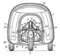 Dymaxion Car by Buckminster Fuller