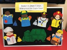 Read, Rhyme and Sing: Flannel Friday: Community Helpers