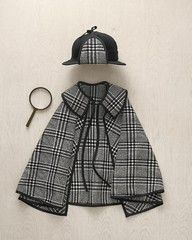 LICENCIA PARA COSER: Tutorial disfraz Sherlock Holmes por 'Martha Stewart'