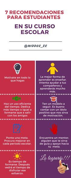 #Educación #infografía BLOG MIDDOS: 7 recomendaciones para estudiantes mediant... http://middoses.blogspot.com/2016/04/siete-recomendaciones-para-los.html?spref=tw … …