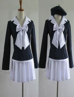 Relaxcos Toaru Kagaku No Railgun Uniforms Cosplay Costume ** Find out more about the great product at the image link.