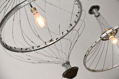 Bicycle chandelier, photo |  The first bicycle |  Cycling website