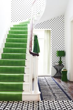 Joanna Henderson London. (Amazing color and decorating inspiration! I love this style!) - the green room  pictured.