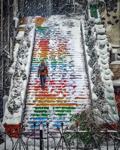 ❄Stairs ~Tophane, Istanbul, Turkey // Photography by Murat ATEŞ (atesburn) • Instagram
