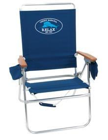 Tommy Bahama Hi-Boy Beach Chair - Great Sea Blue