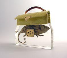 Ted Noten's Grandmas's Handbag. I love this work so much!!
