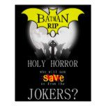 Holy Horror Batman Poster. Poster #batman
