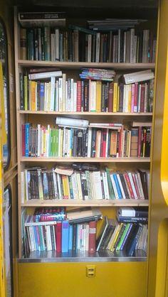 Boxgeschichten: Impressionen von der BücherZeLLe in der Seelingstrasse (Klausener Kiez)