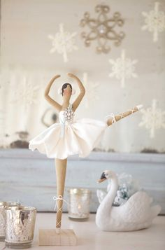 The Cottage of the Week Starring Shabby Art Boutique - The Cottage Market .... really need this ballerina for my little niece...